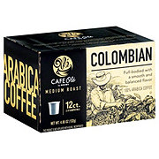 Cafe Ole by H-E-B Colombian Medium Roast Single Serve Coffee Cups