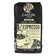 Cafe Ole by H-E-B Espresso Dark Roast Whole Bean Coffee