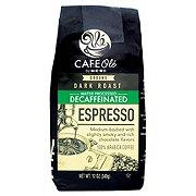 Cafe Ole by H-E-B Espresso Decaf Dark Roast Ground Coffee