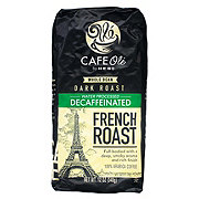 Cafe Ole by H-E-B French Roast Decaf Dark Roast Whole Bean Coffee