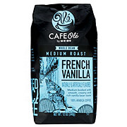 Cafe Ole by H-E-B French Vanilla Medium Roast Whole Bean Coffee