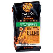 Cafe Ole by H-E-B Houston Blend Decaf Medium Roast Whole Bean Coffee