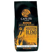 Cafe Ole by H-E-B Houston Blend Medium Roast Whole Bean Coffee