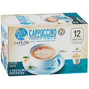 Cafe Ole by H-E-B Select Ingredients French Vanilla Cappuccino Single Serve Coffee Cups