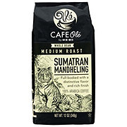 Cafe Ole by H-E-B Sumatra Mandheling Medium Roast Whole Bean Coffee