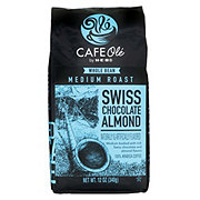 Cafe Ole by H-E-B Swiss Chocolate Almond Medium Roast Whole Bean Coffee