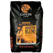 Cafe Ole by H-E-B Taste of Houston Medium Roast Whole Bean Coffee