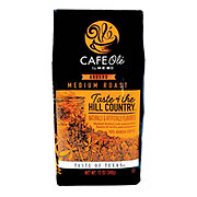 Cafe Ole by H-E-B Taste of The Hill Country Medium Roast Ground Coffee