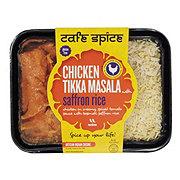 Cafe Spice Chicken Tikka Masala with Saffron Rice