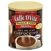 Caffe D'Vita Premium Instant Sugar Free Mocha Cappuccino