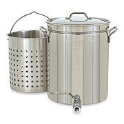 Cajun Classic Crawfish Pot with Aluminum Basket