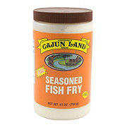 Cajun Land Seasoned Fish Fry
