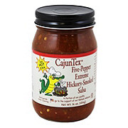 Cajun Texas Five Pepper Extreme Hickory Smoked Salsa