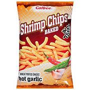 Calbee Hot Garlic Baked Shrimp Flavored Chips
