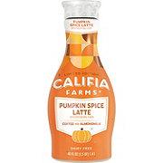 Califia Farms Pumpkin Spice Latte Cold Brew Coffee With Almond Milk