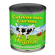 California Farms Organic Sweetened Condensed Milk
