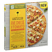 California Pizza Kitchen 5 Cheese And Tomato Thin Crust