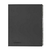 Cambridge Wirebound Legal Ruled Business Notebook, 80 Sheets, Gray