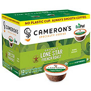 Cameron's Lone Star French Roast Single Serve Coffee Eco Pods
