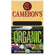 Cameron's Organic Breakfast Blend Whole Bean Coffee