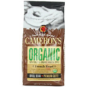 Cameron's Organic French Roast Whole Bean Coffee