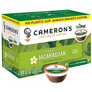 Cameron's Organic Nicaraguan Dark Roast Single Serve Eco Coffee Pods