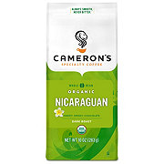 Cameron's Organic Nicaraguan Dark Roast Whole Bean Coffee