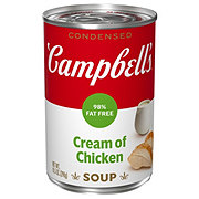 Campbell's 98% Fat Free Condensed Cream of Chicken Soup