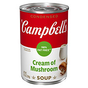 Campbell's 98% Fat Free Condensed Cream of Mushroom Soup