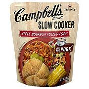 Campbell's Apple Bourbon BBQ Slow Cooker Sauce