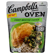 Campbell's Cheesy Broccoli Chicken Oven Sauces