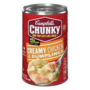 Campbell's Chunky Creamy Chicken and Dumplings Soup