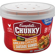 Campbell's Chunky Grilled Chicken and Sausage Gumbo Soup
