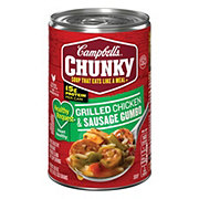 Campbell's Chunky Healthy Request Grilled Chicken and Sausage Gumbo Soup