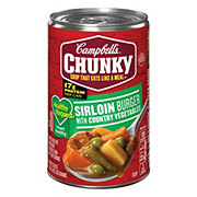 Campbell's Chunky Healthy Request Sirloin Burger with Country Vegetables Soup