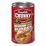 Campbell's Chunky Mushroom Swiss Burger Soup