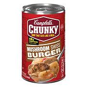 Campbell's Chunky Mushroom Swiss Burger Soup