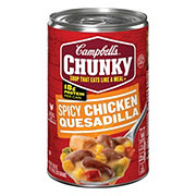 Campbell's Chunky Spicy Chicken Quesadilla Soup