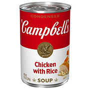 Campbell's Condensed Chicken with Rice Soup