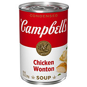Campbell's Condensed Chicken Won Ton  Soup
