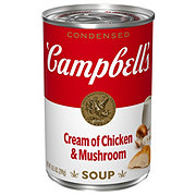 Campbell's Condensed Cream of Chicken & Mushroom Soup
