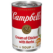 Campbell's Condensed Cream of Chicken with Herbs Soup