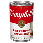 Campbell's Condensed Cream of Mushroom with Roasted Garlic Soup