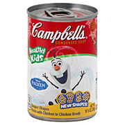 Campbell's Condensed Disney Frozen Souper Shapes Chicken Soup