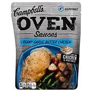 Campbell's Creamy Garlic Butter Chicken Oven Sauces