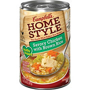 Campbell's Home Style Savory Chicken with Brown Rice Soup