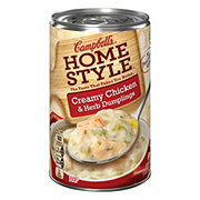 Campbell's Homestyle Creamy Chicken and Herb Dumplings Soup