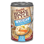 Campbell's Homestyle Light Chicken Noodle Soup