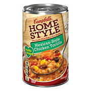 Campbell's Homestyle Mexican-Style Soup, Chicken Tortilla