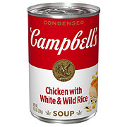 Campbell's Light Condensed Chicken with White and Wild Rice Soup